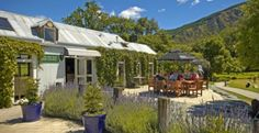 The Hole in One Café and Bar is open for breakfast, lunch and dinner at Millbrook Resort, Queenstown, South Island, New Zealand Millbrook Resort, One Cafe, Hole In One, South Island, New Zealand, Dining, Outdoor Decor, Destinations