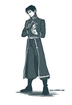 Colonel Roy Mustang | by Viria | Fullmetal Alchemist Brotherhood | Anime