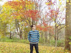 @thenorthface striped sweater