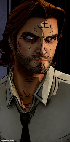 "Telltale Games' ""The Wolf Among Us"" is a prime example of their immersive comic book style. Their artists' use of harsh, distinct shadows and highlights, bold linework, and minimalist contouring allow the player to feel like they've entered a dimension between the second and third. Walking through the world, players find themselves in the pages of their favorite comic books, thanks to the unique and effective artistic techniques used by the Telltale team."
