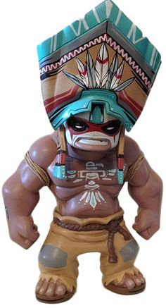 'Tequila Chief' by Mike Fudge.