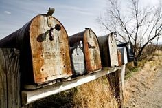 (via The Midwest and Texas: life in the country / rural mailbox print)