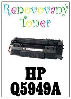 Renovovaný toner HP Q5949A za bezva cenu 507 Kč