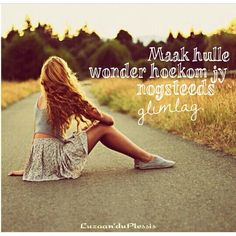 #afrikaans #quote #glimlag