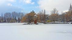 Invierno en el lago de Puigcerdà!