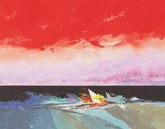 Donald Hamilton Fraser | Evening Beachscape