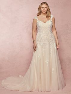 4575276a0c Rebecca Ingram Wedding Dress Desi 9RN005 plus-Main Fitted Wedding Gown