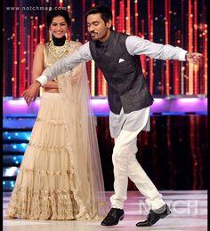 Dhanush, Sonam promote Raanjhanaa movie