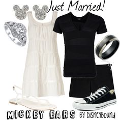 Just Married couples outfit