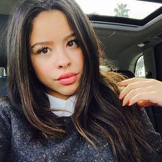 Cierra Ramirez's lip color is gorgeous! | The Fosters