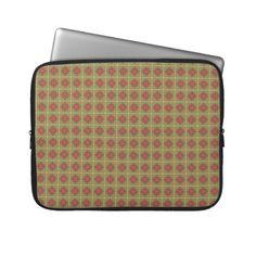 """Laptop Sleeve """"Autumn Colors"""" Vers03. Herbstliche Farben, Natur- und Erdtöne. Grafik und Entwurf bei ArianneGrafX©2012"""
