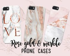 Hundreds of unique rose gold and marble designs. Modern aesthetic with realistic textures and a luxe feel. Adorn your phone, your wardrobe and your home.