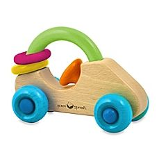 green sprouts Car Rattle Made From Wood: green sprouts Dream Window Natural Wood Car Classic car shape rolls easliy to encourage motor skill development. Wood rings spin and rattle. Wooden Car, Water Toys, Baby Learning, Buy Buy Baby, Learning Colors, Baby Store, Baby Play, Wood Toys