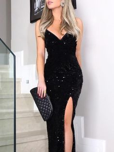New Arrival Sexy Sleeveless Spaghetti Straps Black Prom Dress Bling Evening Gown Mermaid Evening Dresses Prom Dresses Black Mermaid Prom Dress Sexy Prom Dress Evening Dresses Black Prom Dresses 2020 Long Prom Dresses Uk, Sequin Evening Dresses, Formal Dresses, Wedding Dresses, Summer Dresses, Casual Dresses, Dress Long, Homecoming Dresses, Sexy Evening Dress