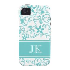 Paisley Garden with Changable Color Case-Mate iPhone 4 Covers