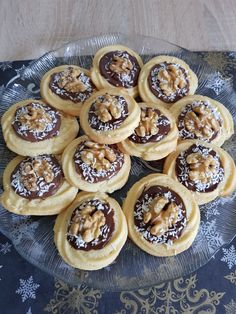 Sweet Pastries, Dessert Recipes, Desserts, Biscotti, Sweet Treats, Cheesecake, Muffin, Food And Drink, Sweets