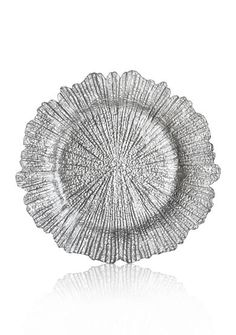 Jay Import 13.5-in. Reef Silver Charger