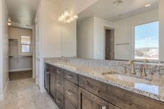 St. George Master Bath--Custom Home Gallery - Davinci Homes LLC