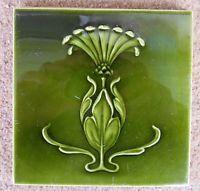 """Original  English  Art Nouveau tile , c1905/7 6""""x6""""Tile 805"""