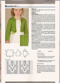 Stitch Patterns, Knitting Patterns, Knitting For Kids, Crochet Baby, Sweaters, Spanish, Fashion, Knitting Socks, Knitted Baby
