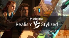 Realistic vs. Stylized: Technique Overview