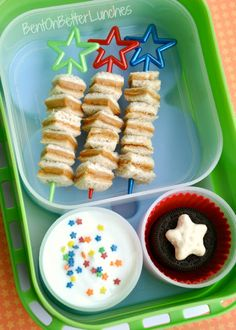 BentOnBetterLunches: Lunch On A Stick : Linky Party!