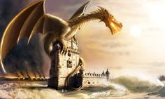 Belem-and-the-Dragon by Erebus74.deviantart.com