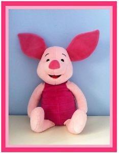 Piglet Winnie The Pooh Large Soft Toy Disney Winnie Pooh Friends & Family Piglet