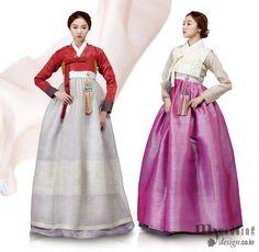 Hanbok, Korean. My wedding_ 맵시 있게 한복 입기 신부 한복, 체형별 맞춤 가이드