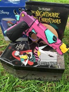 """The Nightmare Before Christmas"" Custom Pistol"