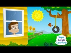 How's The Weather? GREAT WEATHER SONG-SUNNY, RAINY, CLOUDY, SNOWY-SIMPLE IDENTIFICATION| Super Simple Songs - YouTube