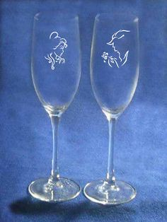 Wedding Themes Beauty and Beast Wedding Glasses Flutes Personalized NEW Belle beast Cute Wedding Ideas, Wedding Themes, Wedding Colors, Wedding Events, Wedding Decorations, Themed Weddings, Wedding Desserts, Wedding Cakes, Beauty And The Beast Wedding Theme