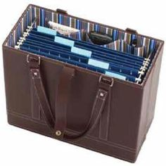 I want this file tote from Cleverly Organized.