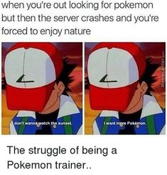 Image result for pokemon trainers memes