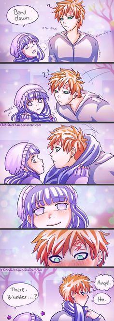 Gaara and Hinata Comic: