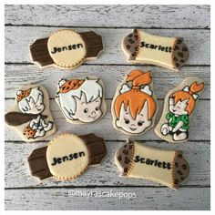 Pebbles and Bam Bam Cookies