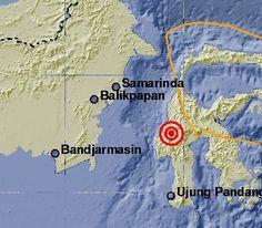 Gempa 5,4 SR Gelitik Toraja Utara
