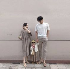 Baby Boy Outfits Photoshoot Ideas For 2019 Mode Ulzzang, Ulzzang Kids, Ulzzang Couple, Family Set, Cute Family, Family Goals, Korean Babies, Asian Babies, Couple With Baby