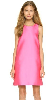Lisa Perry Neon Circle Dress