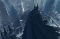ArtStation - Personal Work_Batman series, SAN SAN