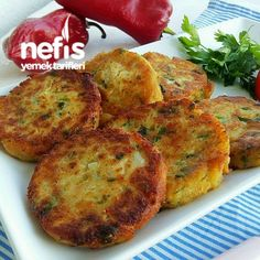 Parmak Yedirten Karnabahar Köftesi (videolu) – Nefis Yemek Tarifleri – Vegan yemek tarifleri – The Most Practical and Easy Recipes Food T, Good Food, Food And Drink, Yummy Food, Seafood Recipes, Mexican Food Recipes, Vegetarian Recipes, Healthy Recipes, Yummy Recipes