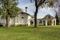 Bellevue House in Amherstburg, Ontario by Amanda Anger, via Flickr. Bellevue House, Country School, Local Museums, Georgian Architecture, Old Churches, Lake Erie, Most Beautiful Cities, Historical Sites, Abandoned Places