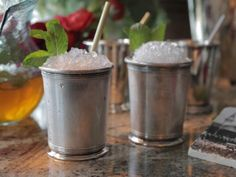 Get Mint Julep Party Pitcher Recipe from Food Network