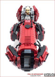 Rey's Speeder Custom type   by seter82