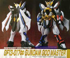 GUNDAM GUY: HG 1/144 Gundam God Master - Customized Build