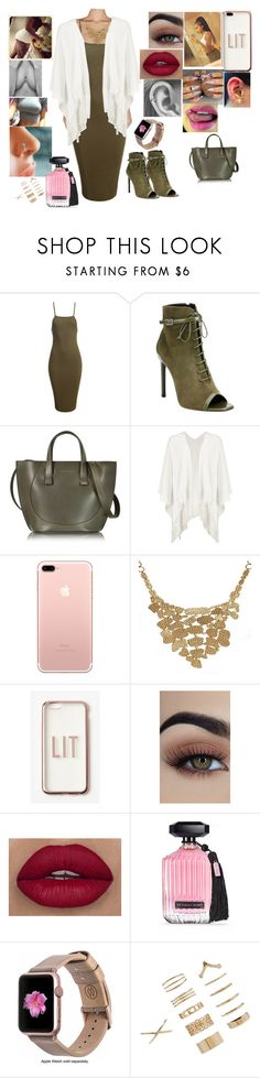 """""""Untitled #155"""" by ayannalovebug ❤ liked on Polyvore featuring Sans Souci, Yves Saint Laurent, Victoria Beckham, Boohoo, Christina Greene, Missguided, Victoria's Secret, Monowear and Forever 21"""