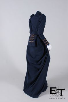 Riding habit, 1870's    From the Museum of Texas Tech University