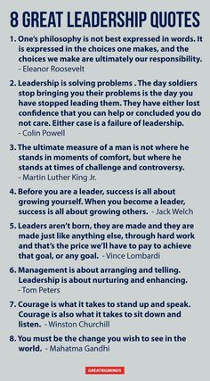 Inspirational quotes on leadership in business. leadership/m Leadership Coaching, Leadership Development, Professional Development, Leadership Activities, Sayings About Leadership, Quality Of Leadership, Military Leadership Quotes, Educational Leadership Quotes, Leadership Words