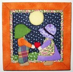 Machine Embroidery Patterns, Hand Embroidery, Quilt Patterns, Embroidery Designs, Sunbonnet Sue, Craft Kits, Quilting Designs, Baby Quilts, Paper Dolls