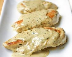 Chicken with Mustard Cream Sauce: this easy chicken dish, with a creamy mustard sauce, is on the table in about 20 minutes! No Carb Recipes, Cooking Recipes, Healthy Recipes, Chicken Recipes No Carbs, Mustard Cream Sauce, Mustard Sauce For Chicken, Honey Mustard, Chicken Cream Sauce, Easy Sauce For Chicken